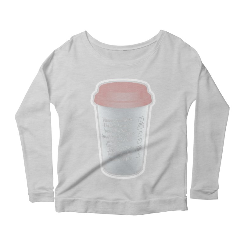 Hot Mess Women's Scoop Neck Longsleeve T-Shirt by Gamma Bomb - Explosively Mutating Your Look