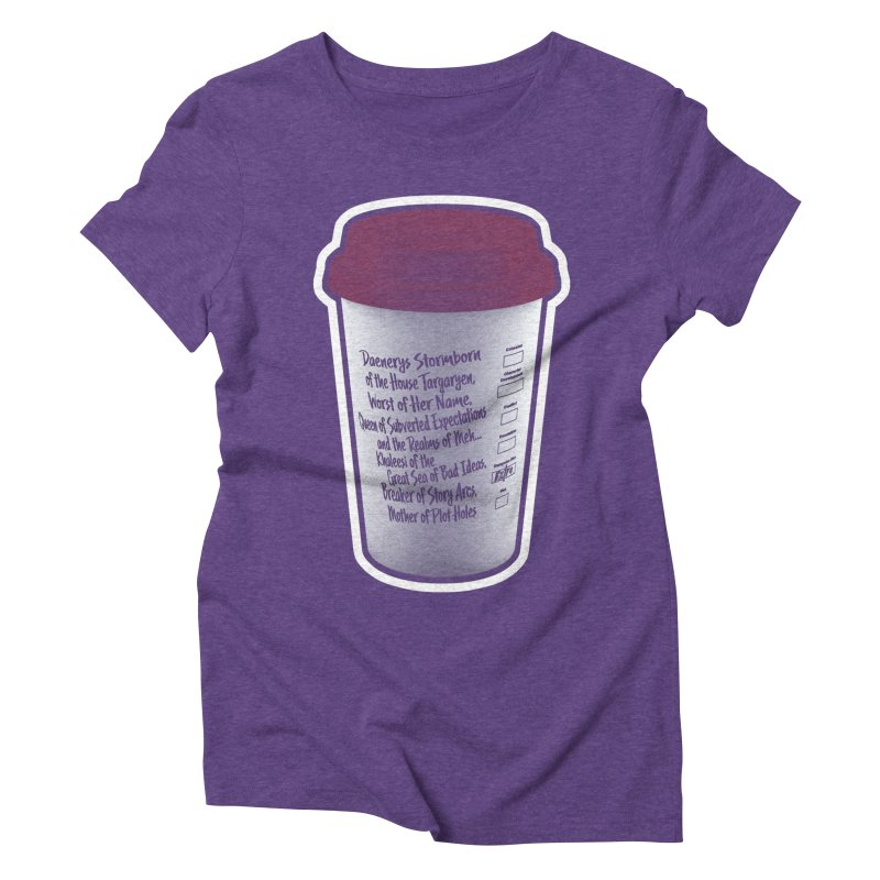 Hot Mess Women's Triblend T-Shirt by Gamma Bomb - Explosively Mutating Your Look