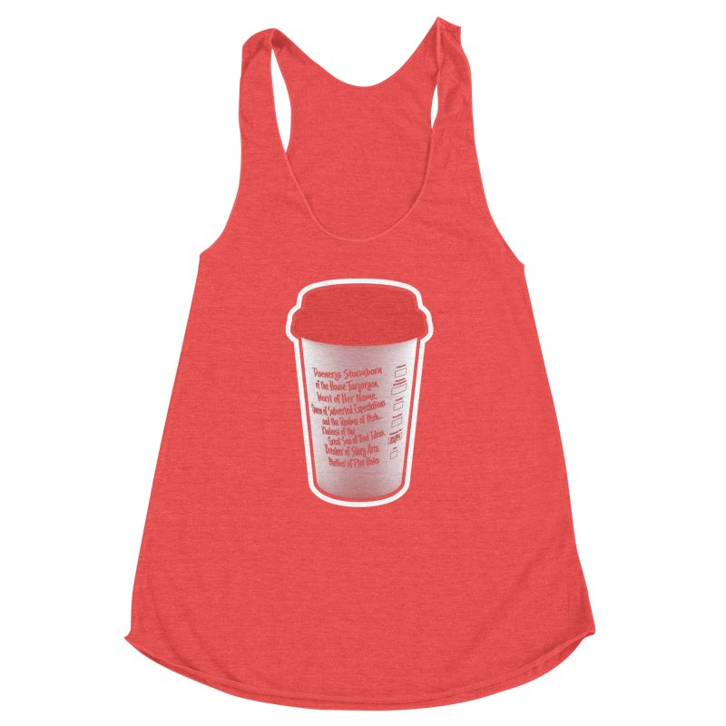 Hot Mess Women's Racerback Triblend Tank by Gamma Bomb - Explosively Mutating Your Look