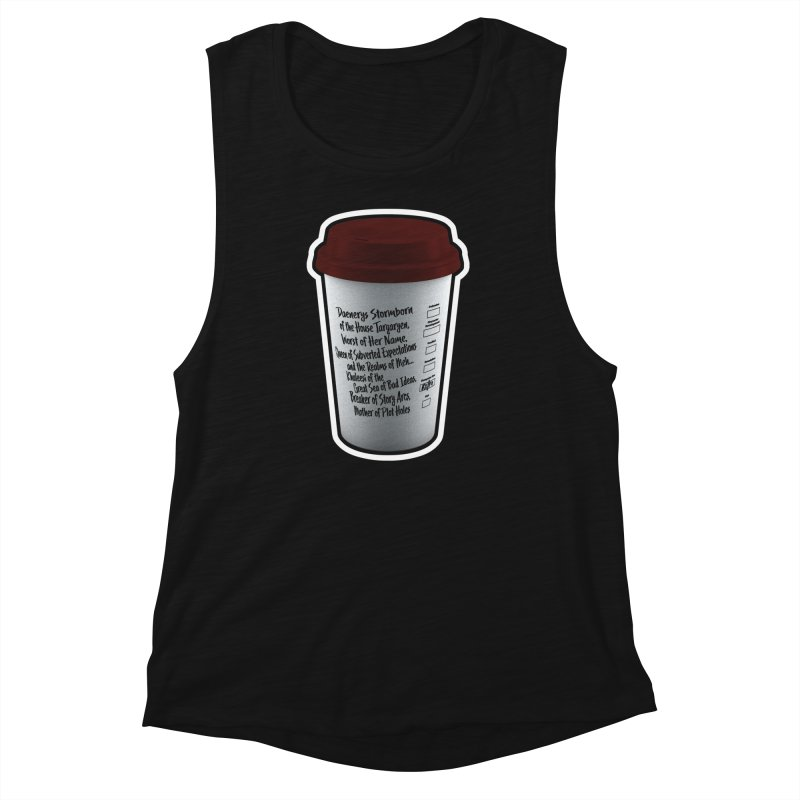 Hot Mess Women's Muscle Tank by Gamma Bomb - Explosively Mutating Your Look