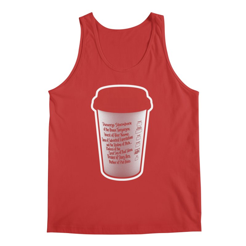 Hot Mess Men's Regular Tank by Gamma Bomb - Explosively Mutating Your Look