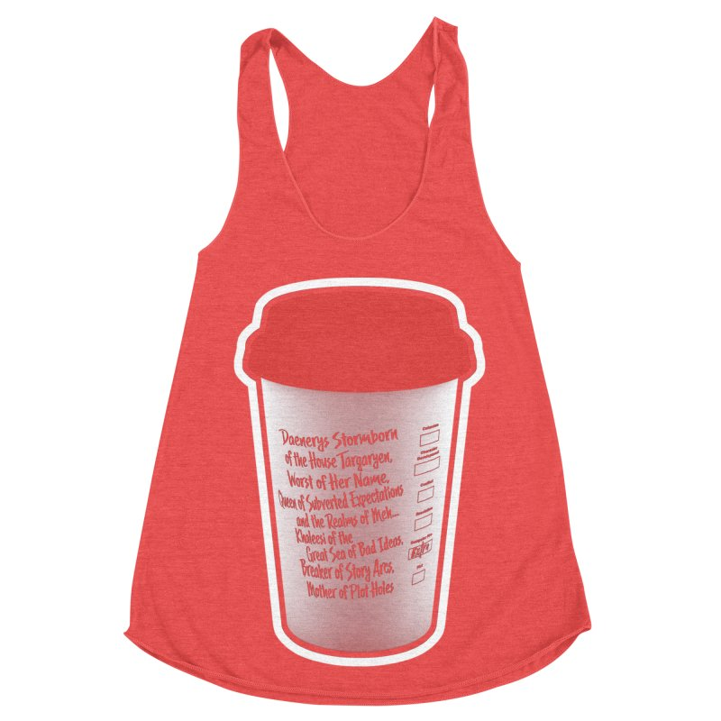 Hot Mess Women's Tank by Gamma Bomb - Explosively Mutating Your Look