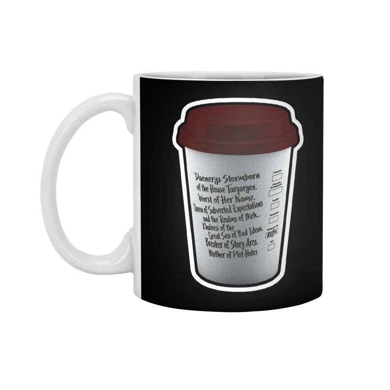 Hot Mess Accessories Standard Mug by Gamma Bomb - Explosively Mutating Your Look