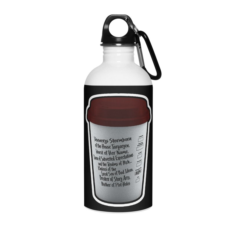 Hot Mess Accessories Water Bottle by Gamma Bomb - Explosively Mutating Your Look