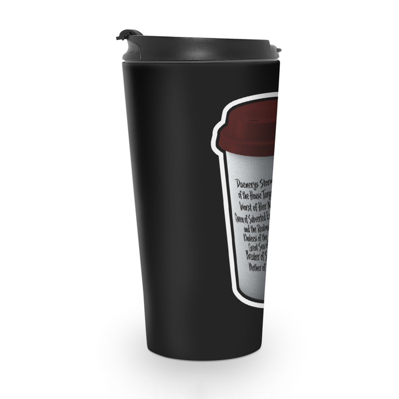 Hot Mess Accessories Travel Mug by Gamma Bomb - Explosively Mutating Your Look