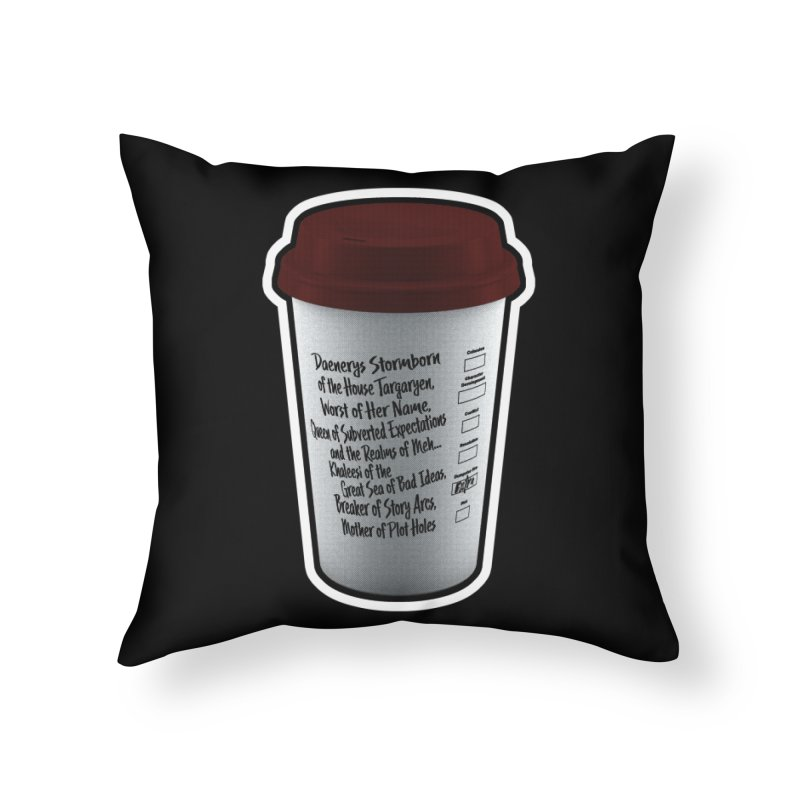 Hot Mess Home Throw Pillow by Gamma Bomb - Explosively Mutating Your Look