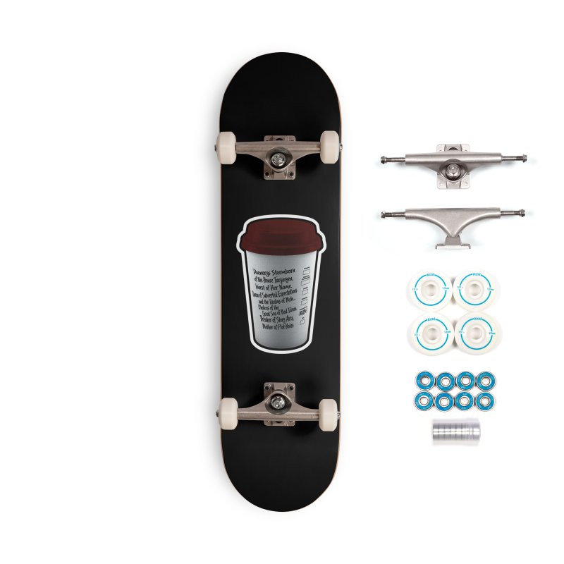 Hot Mess Accessories Skateboard by Gamma Bomb - Explosively Mutating Your Look
