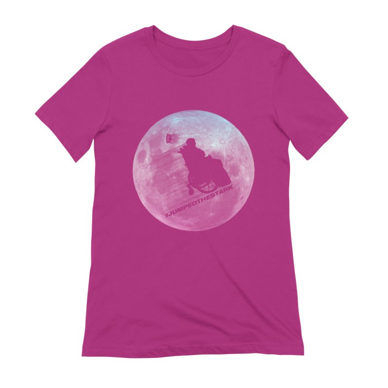 Jumped the Stark Women's Extra Soft T-Shirt by Gamma Bomb - Explosively Mutating Your Look