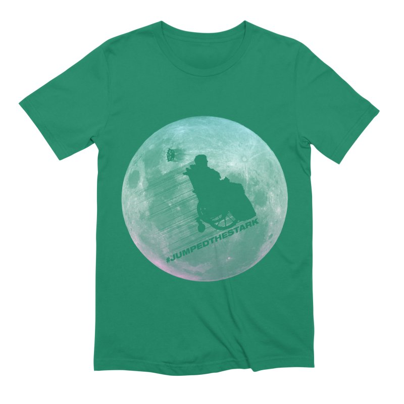 Jumped the Stark Men's Extra Soft T-Shirt by Gamma Bomb - Explosively Mutating Your Look