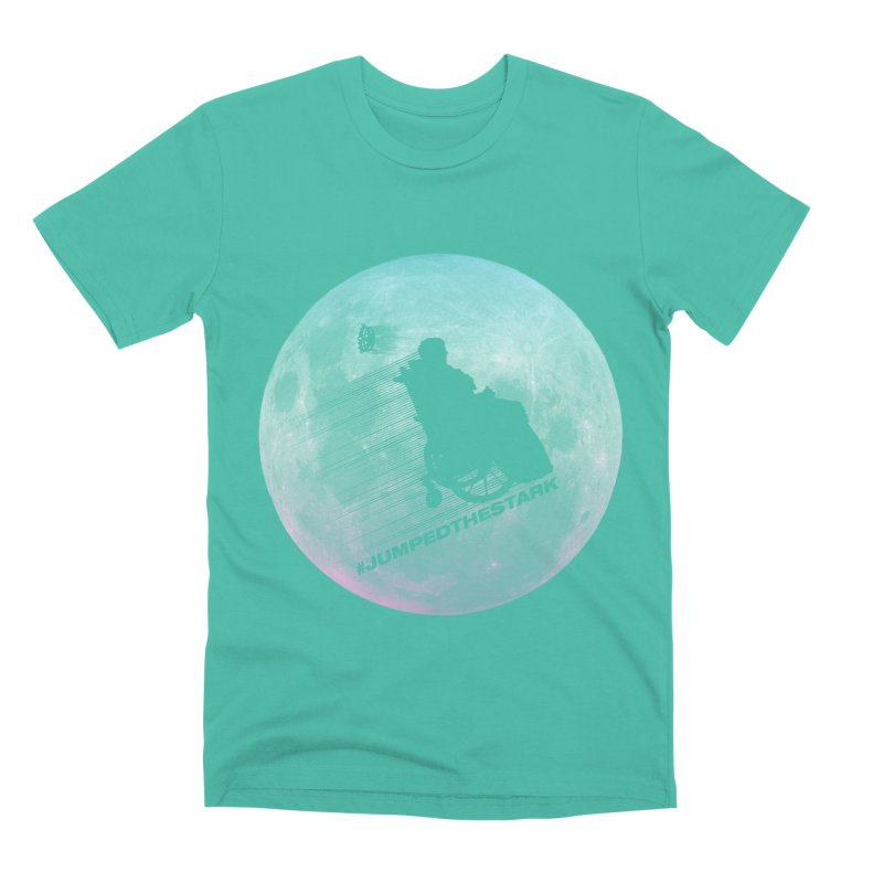 Jumped the Stark Men's Premium T-Shirt by Gamma Bomb - Explosively Mutating Your Look