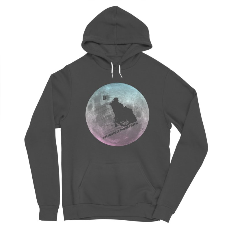 Jumped the Stark Women's Sponge Fleece Pullover Hoody by Gamma Bomb - Explosively Mutating Your Look