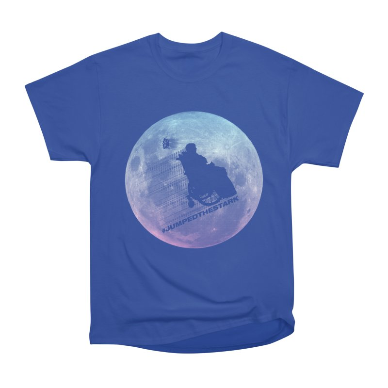 Jumped the Stark Women's Heavyweight Unisex T-Shirt by Gamma Bomb - Explosively Mutating Your Look