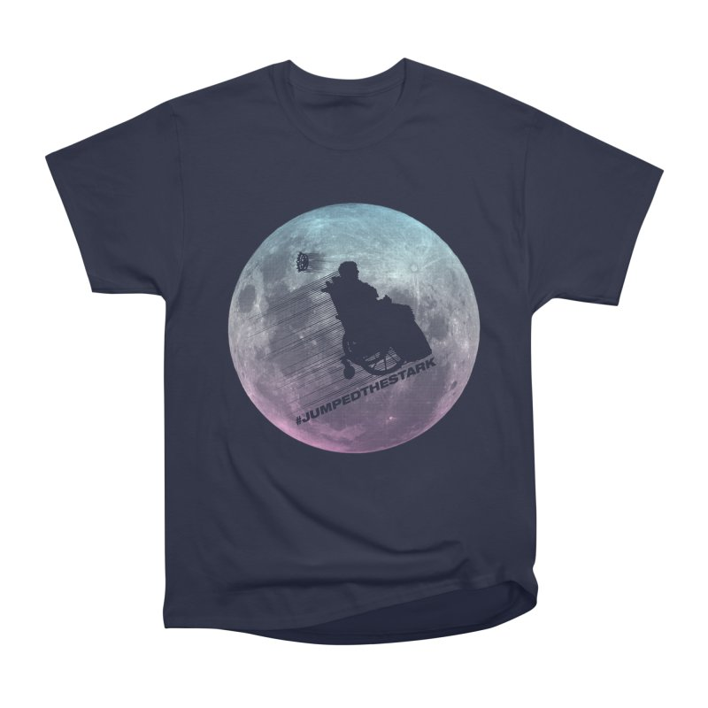 Jumped the Stark Men's Heavyweight T-Shirt by Gamma Bomb - Explosively Mutating Your Look
