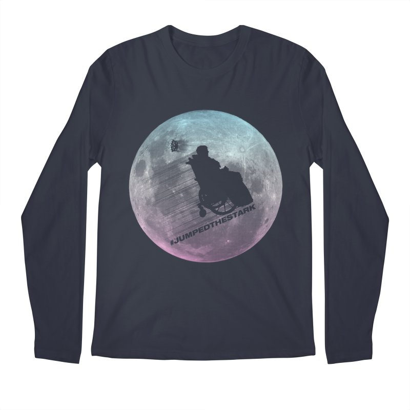 Jumped the Stark Men's Regular Longsleeve T-Shirt by Gamma Bomb - Explosively Mutating Your Look