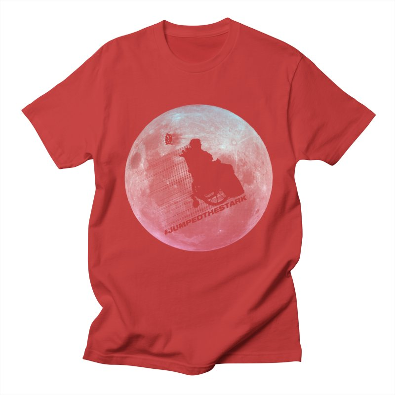 Jumped the Stark Men's Regular T-Shirt by Gamma Bomb - Explosively Mutating Your Look