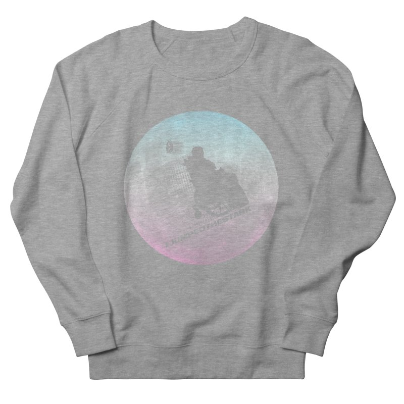 Jumped the Stark Women's French Terry Sweatshirt by Gamma Bomb - Explosively Mutating Your Look