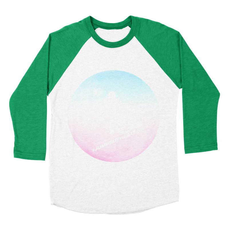 Jumped the Stark Women's Baseball Triblend Longsleeve T-Shirt by Gamma Bomb - Explosively Mutating Your Look