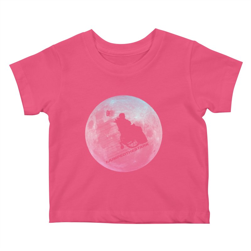 Jumped the Stark Kids Baby T-Shirt by Gamma Bomb - Explosively Mutating Your Look