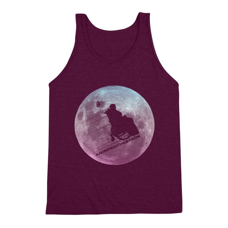 Jumped the Stark Men's Triblend Tank by Gamma Bomb - Explosively Mutating Your Look