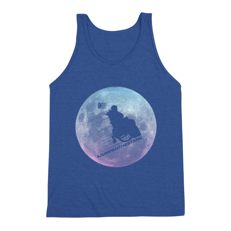 Jumped the Stark Men's Tank by Gamma Bomb - Explosively Mutating Your Look