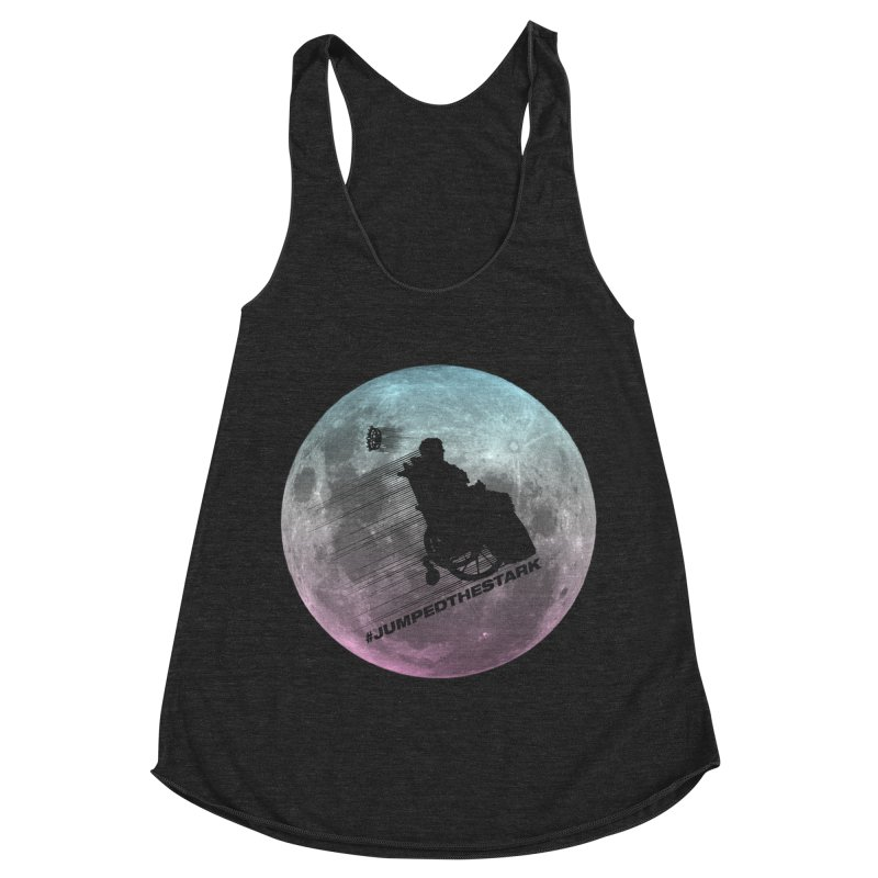Jumped the Stark Women's Racerback Triblend Tank by Gamma Bomb - Explosively Mutating Your Look