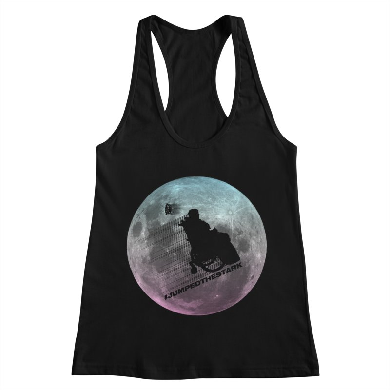 Jumped the Stark Women's Racerback Tank by Gamma Bomb - Explosively Mutating Your Look