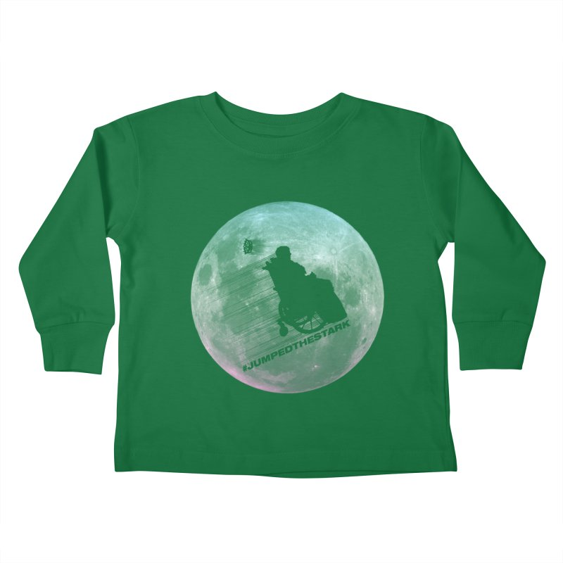 Jumped the Stark Kids Toddler Longsleeve T-Shirt by Gamma Bomb - Explosively Mutating Your Look