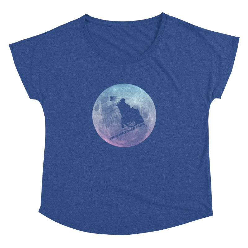Jumped the Stark Women's Dolman Scoop Neck by Gamma Bomb - Explosively Mutating Your Look