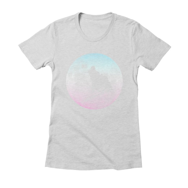 Jumped the Stark Women's Fitted T-Shirt by Gamma Bomb - Explosively Mutating Your Look