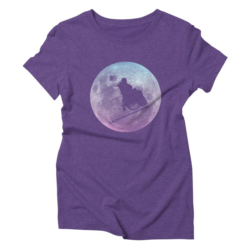 Jumped the Stark Women's Triblend T-Shirt by Gamma Bomb - Explosively Mutating Your Look