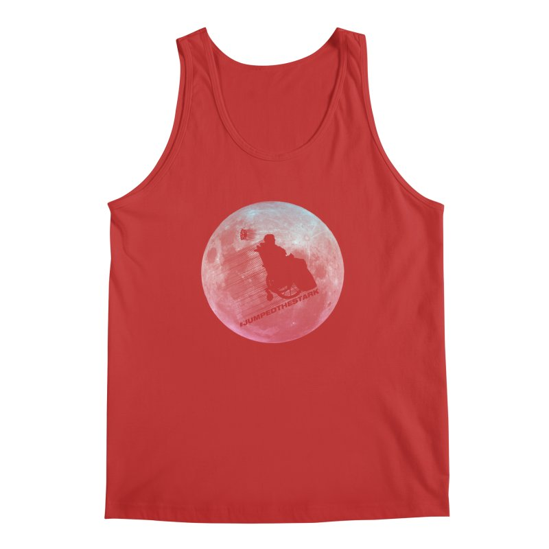 Jumped the Stark Men's Regular Tank by Gamma Bomb - Explosively Mutating Your Look