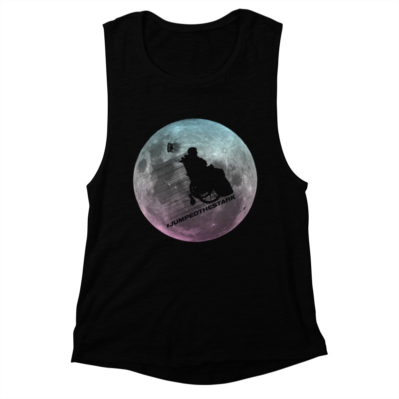 Jumped the Stark Women's Muscle Tank by Gamma Bomb - Explosively Mutating Your Look