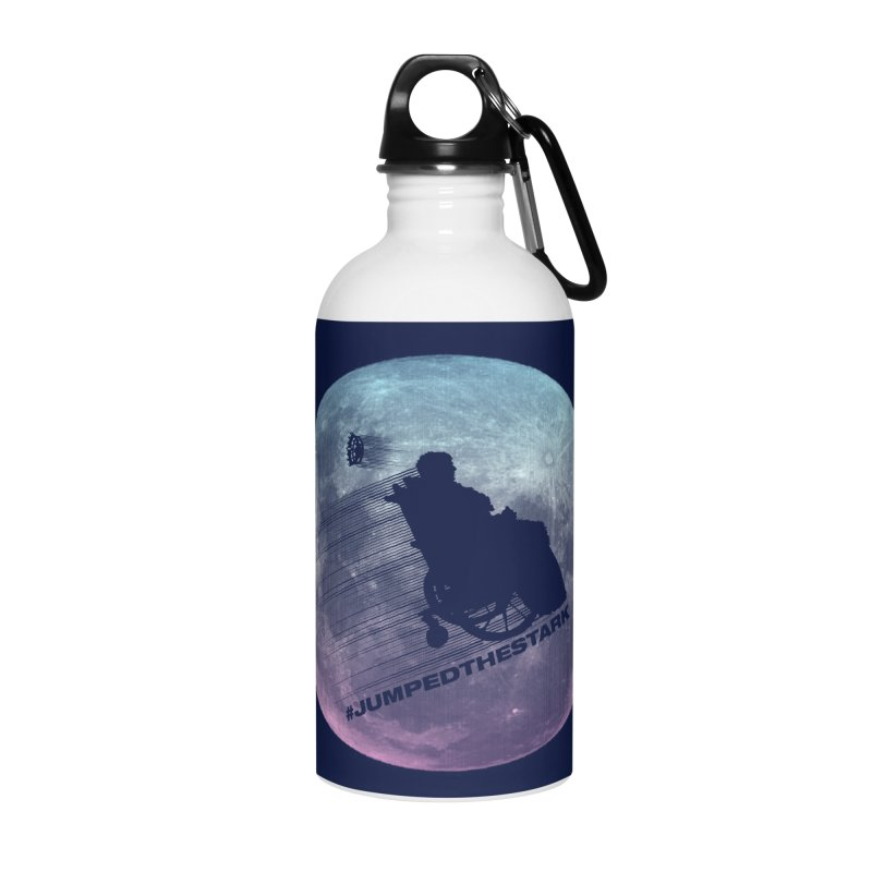 Jumped the Stark Accessories Water Bottle by Gamma Bomb - Explosively Mutating Your Look