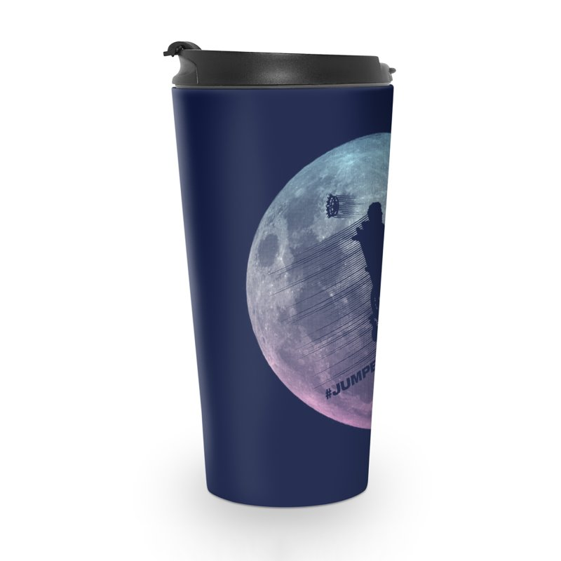 Jumped the Stark Accessories Travel Mug by Gamma Bomb - Explosively Mutating Your Look