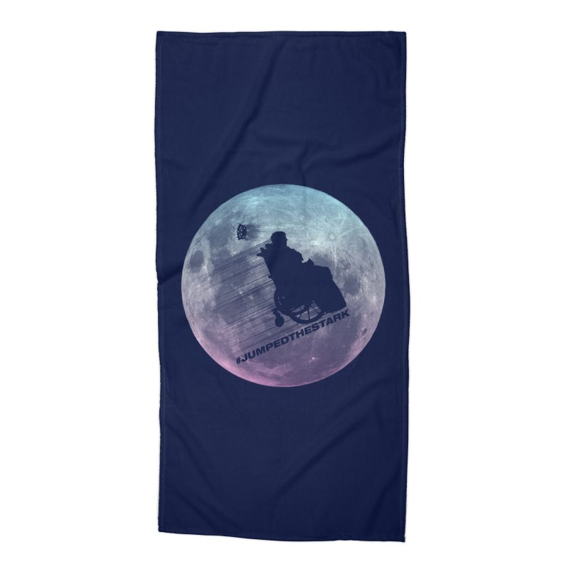 Jumped the Stark Accessories Beach Towel by Gamma Bomb - Explosively Mutating Your Look