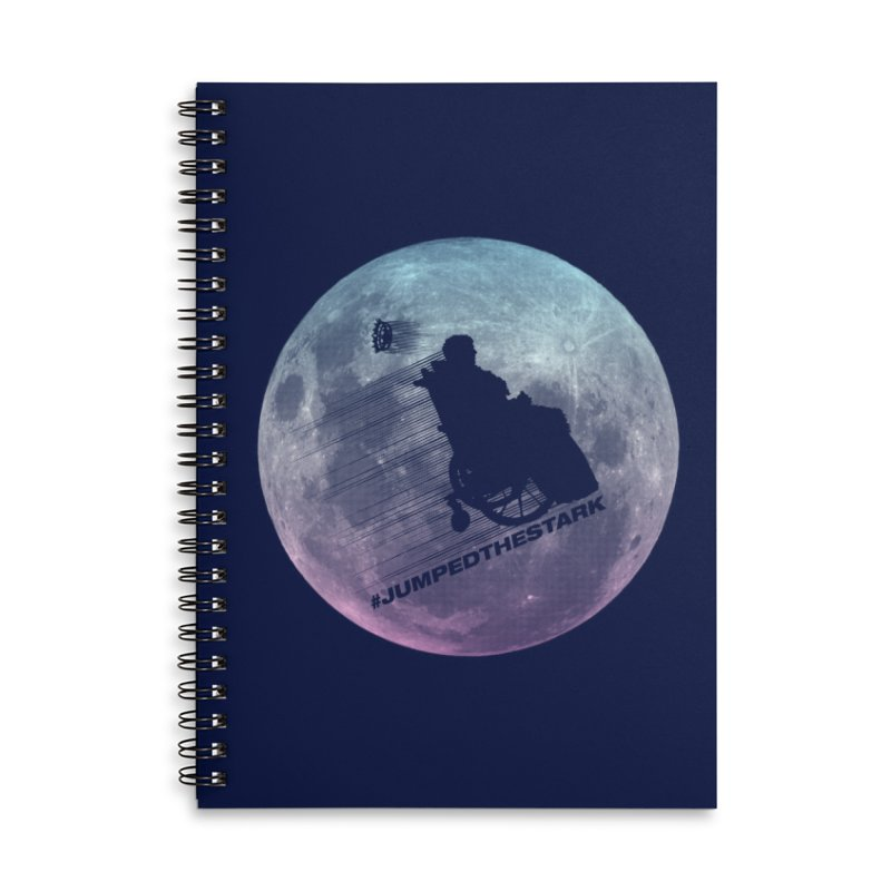 Jumped the Stark Accessories Lined Spiral Notebook by Gamma Bomb - Explosively Mutating Your Look