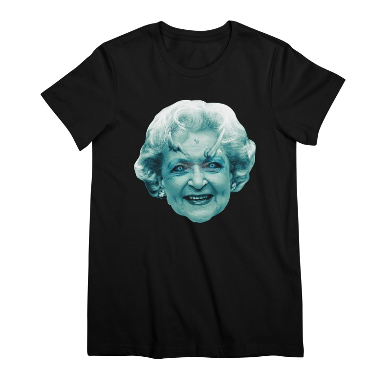 Betty Whitewalker Women's Premium T-Shirt by Gamma Bomb - Explosively Mutating Your Look