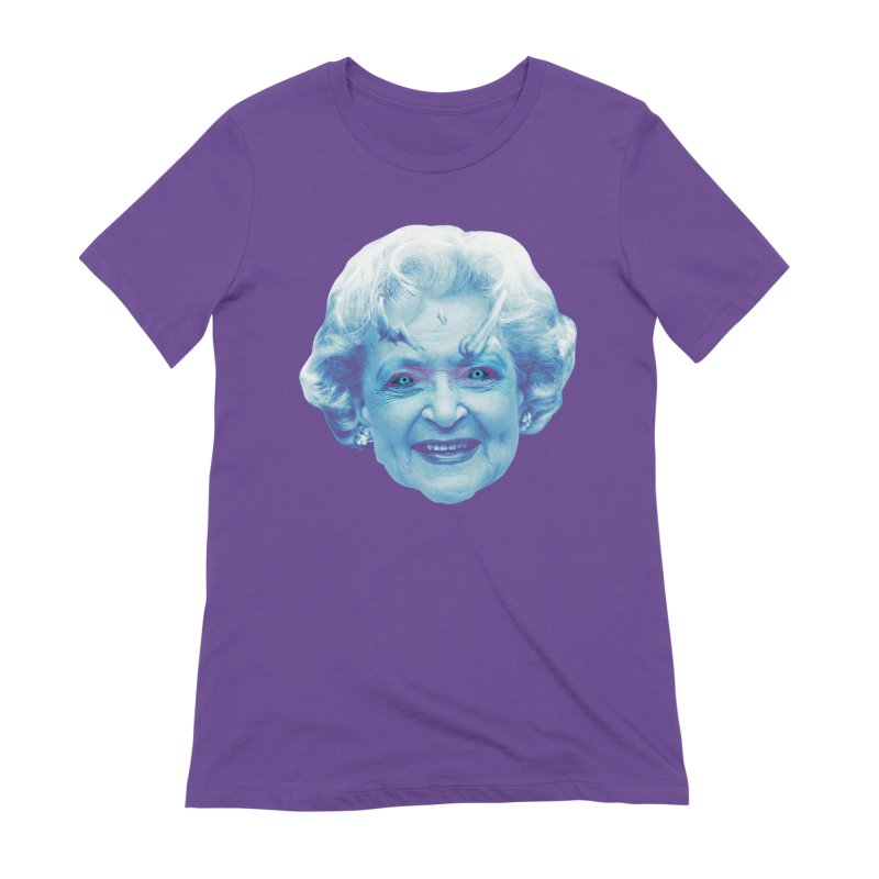 Betty Whitewalker Women's Extra Soft T-Shirt by Gamma Bomb - Explosively Mutating Your Look