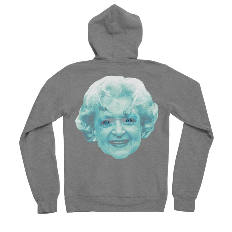 Betty Whitewalker Men's Zip-Up Hoody by Gamma Bomb - Explosively Mutating Your Look