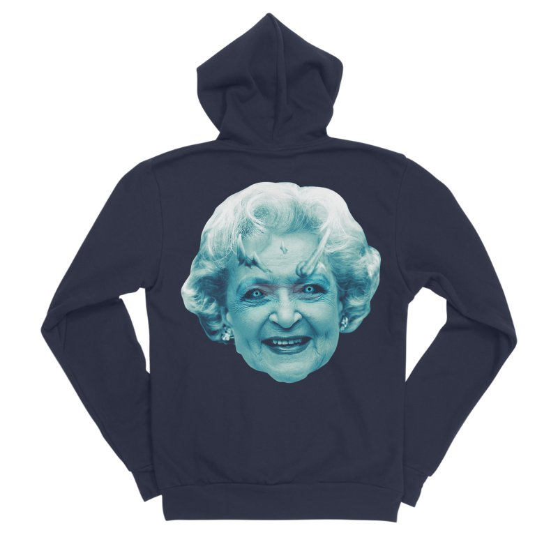 Betty Whitewalker Men's Sponge Fleece Zip-Up Hoody by Gamma Bomb - Explosively Mutating Your Look