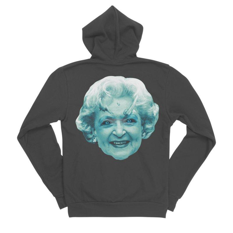 Betty Whitewalker Women's Sponge Fleece Zip-Up Hoody by Gamma Bomb - Explosively Mutating Your Look