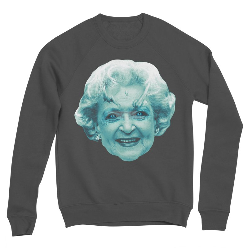 Betty Whitewalker Men's Sponge Fleece Sweatshirt by Gamma Bomb - Explosively Mutating Your Look