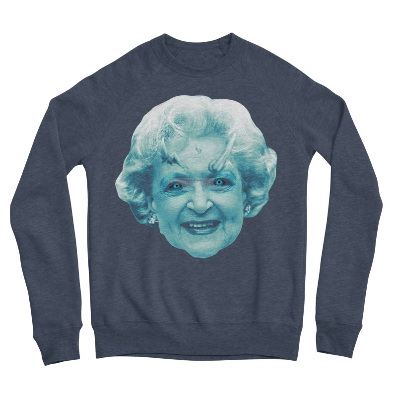 Betty Whitewalker Men's Sponge Fleece Sweatshirt by Gamma Bomb - Explosively Mutating Your Look
