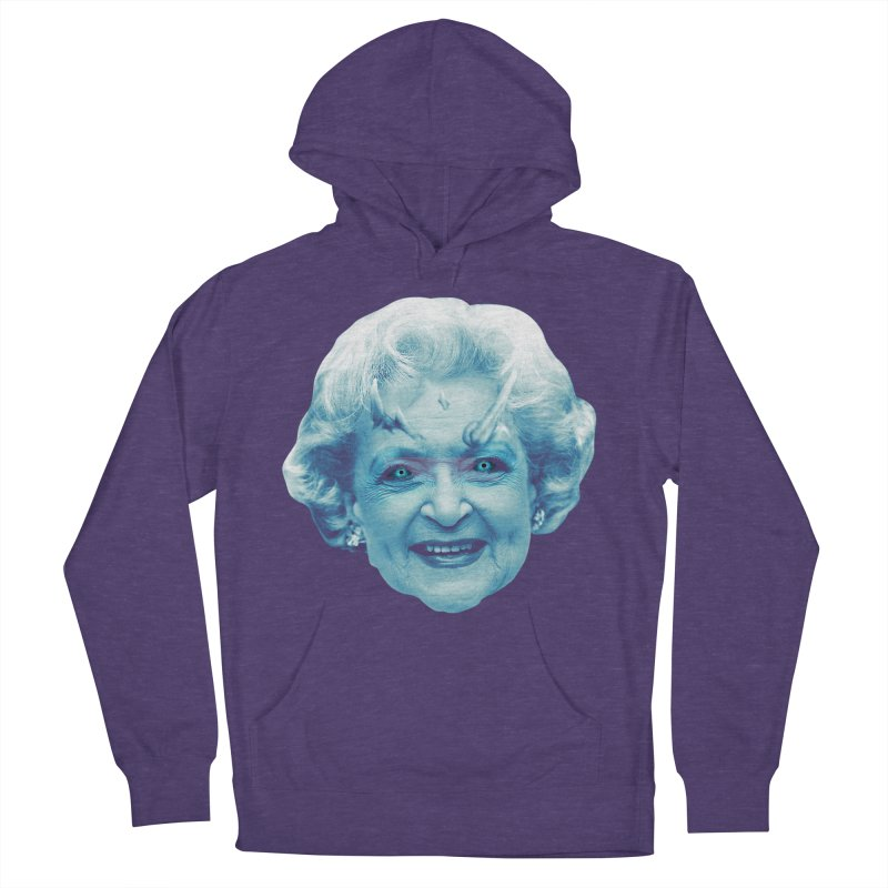 Betty Whitewalker Women's French Terry Pullover Hoody by Gamma Bomb - Explosively Mutating Your Look