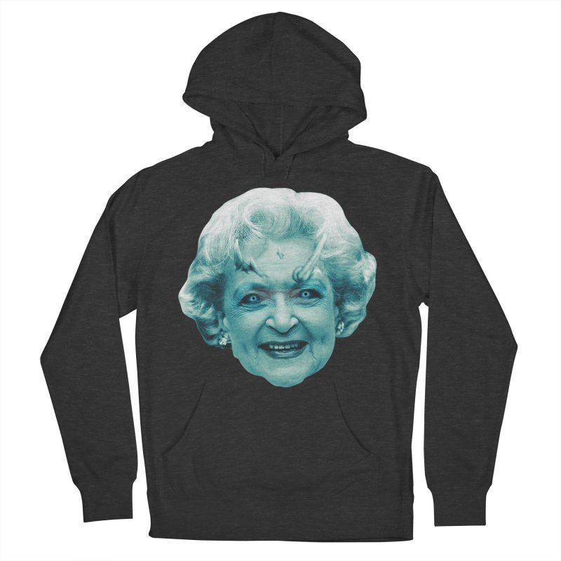 Betty Whitewalker Men's French Terry Pullover Hoody by Gamma Bomb - Explosively Mutating Your Look