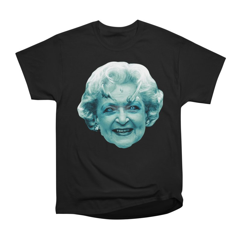 Betty Whitewalker Men's Heavyweight T-Shirt by Gamma Bomb - Explosively Mutating Your Look