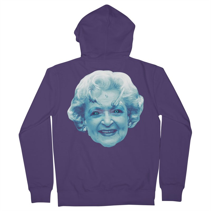 Betty Whitewalker Women's French Terry Zip-Up Hoody by Gamma Bomb - Explosively Mutating Your Look