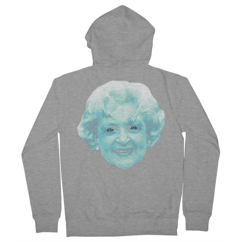 Betty Whitewalker Men's French Terry Zip-Up Hoody by Gamma Bomb - Explosively Mutating Your Look
