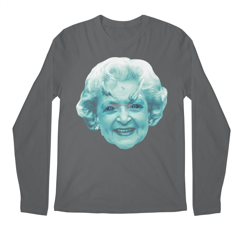 Betty Whitewalker Men's Regular Longsleeve T-Shirt by Gamma Bomb - Explosively Mutating Your Look