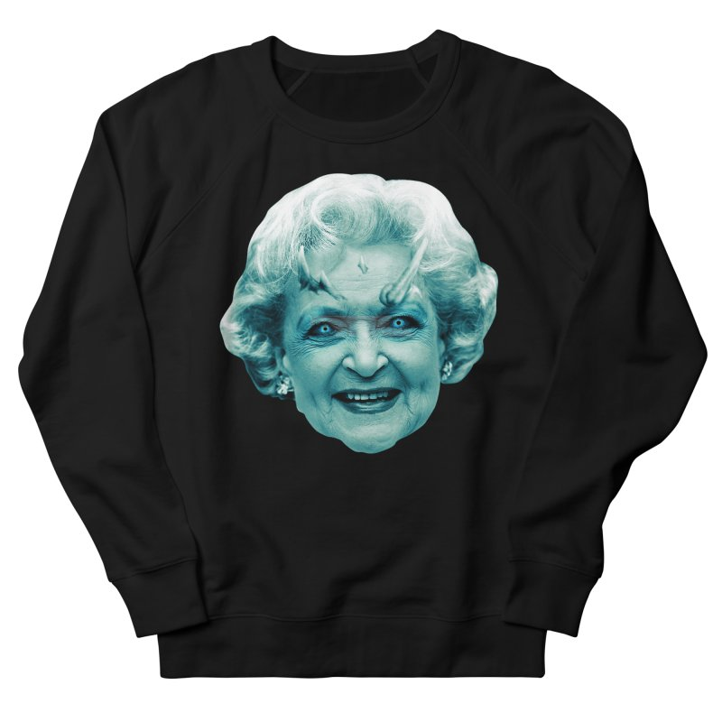 Betty Whitewalker Men's French Terry Sweatshirt by Gamma Bomb - Explosively Mutating Your Look